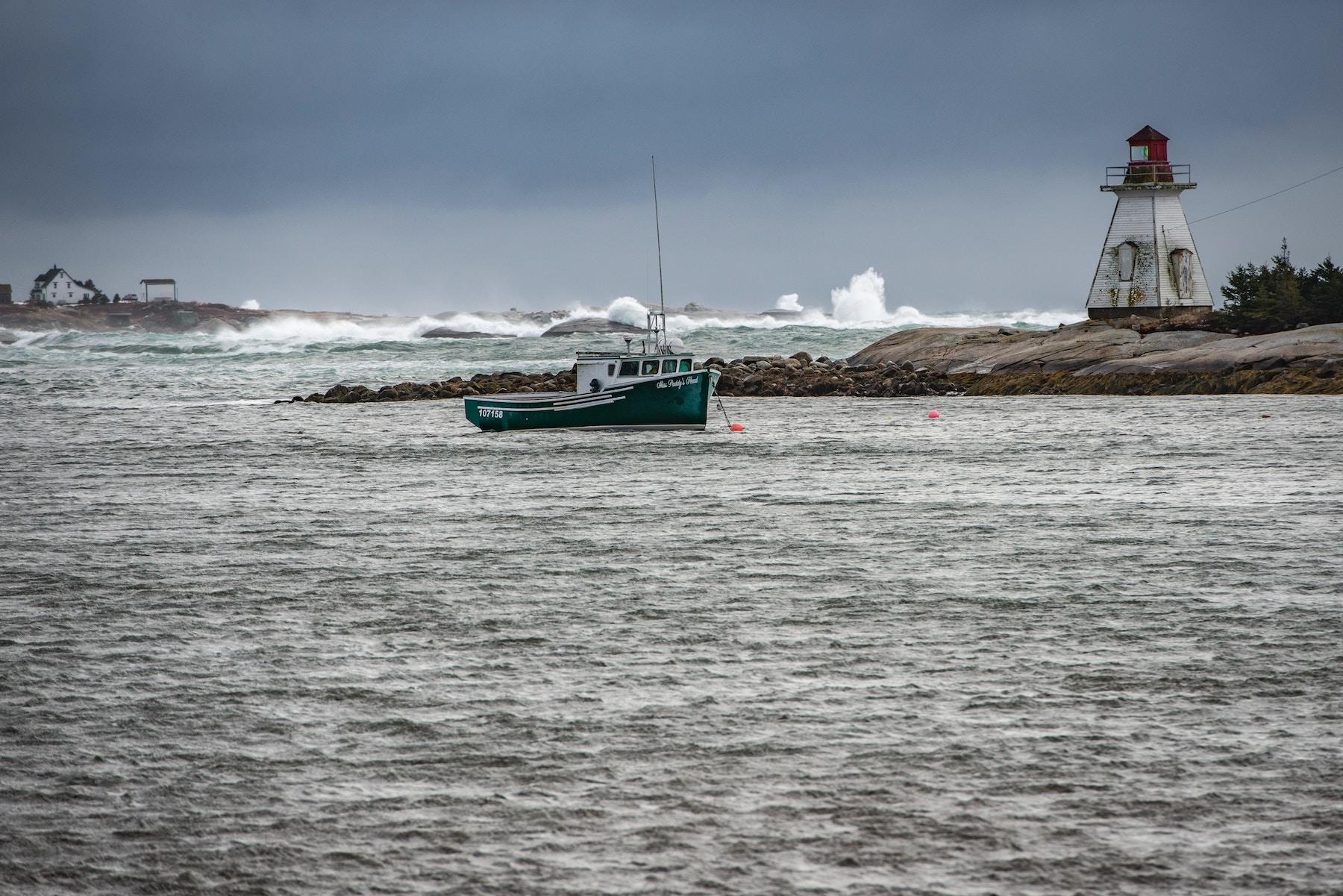 boat in Nova Scotia