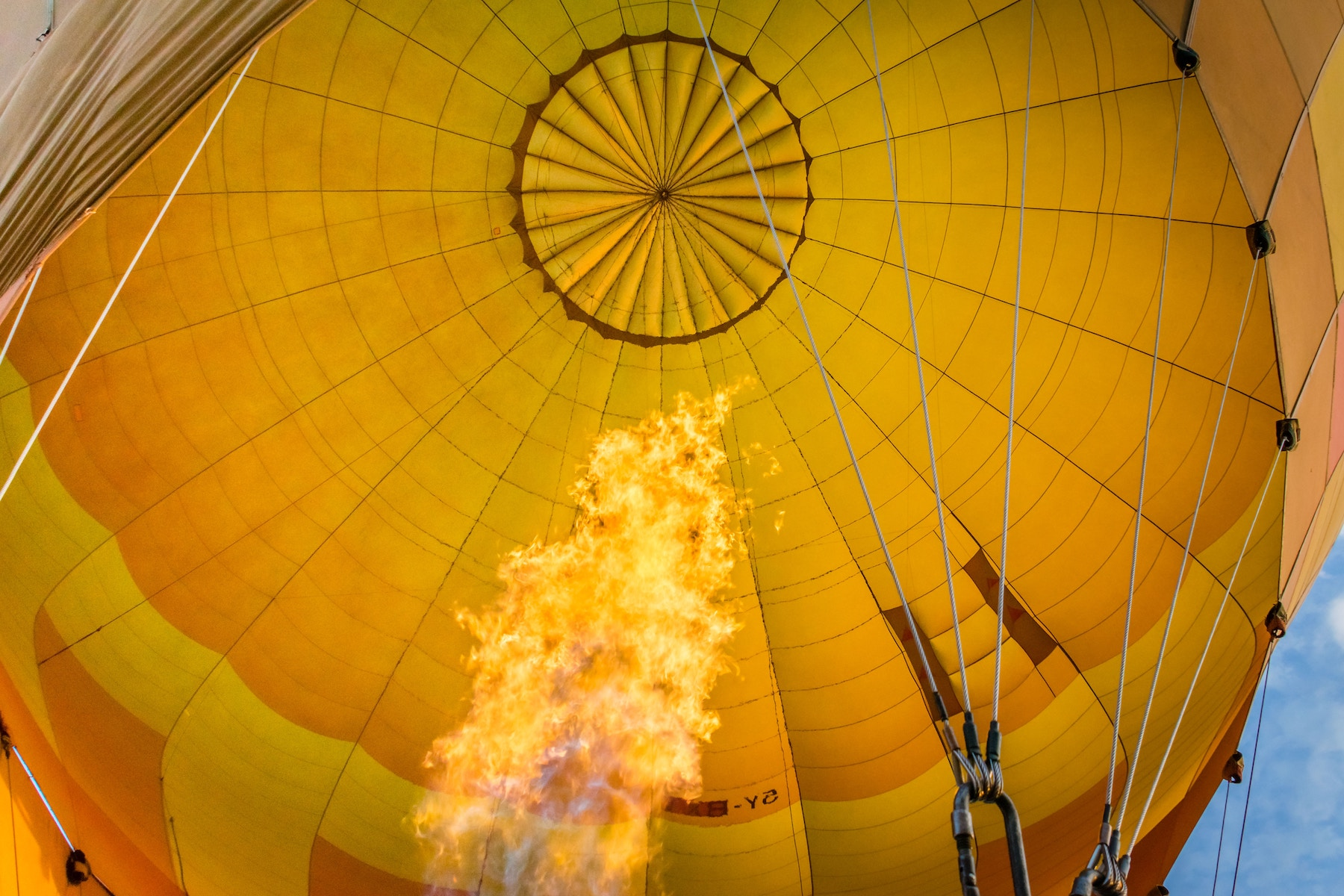 Hot Air Balloon Rising