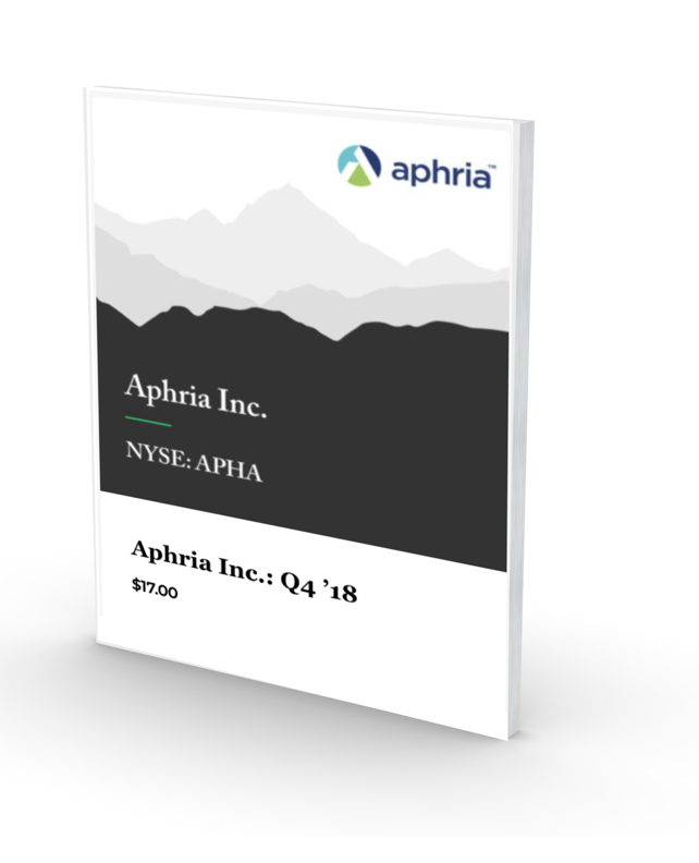 Green Growth Brands Files Formal Offer on Aphria