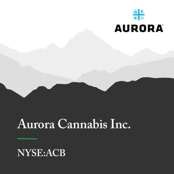 Aurora Cannabis Announces 33% Expansion of Medicine Hat Facility