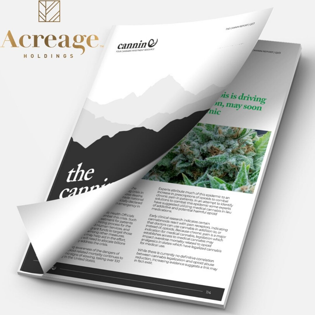 Acreage Announces Commencement Of Adult-Use Cannabis Sales In Illinois