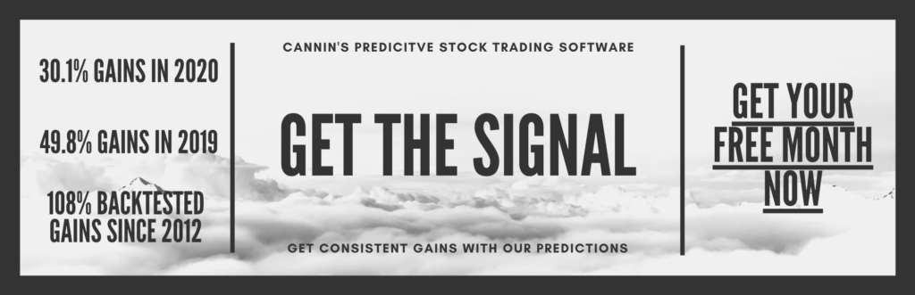 Algorithmic Stock Trades Cannabis Stocks