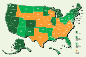 Cannabis Legalization in USA State By State 1