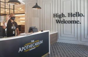 high hello welcome Apothecarium