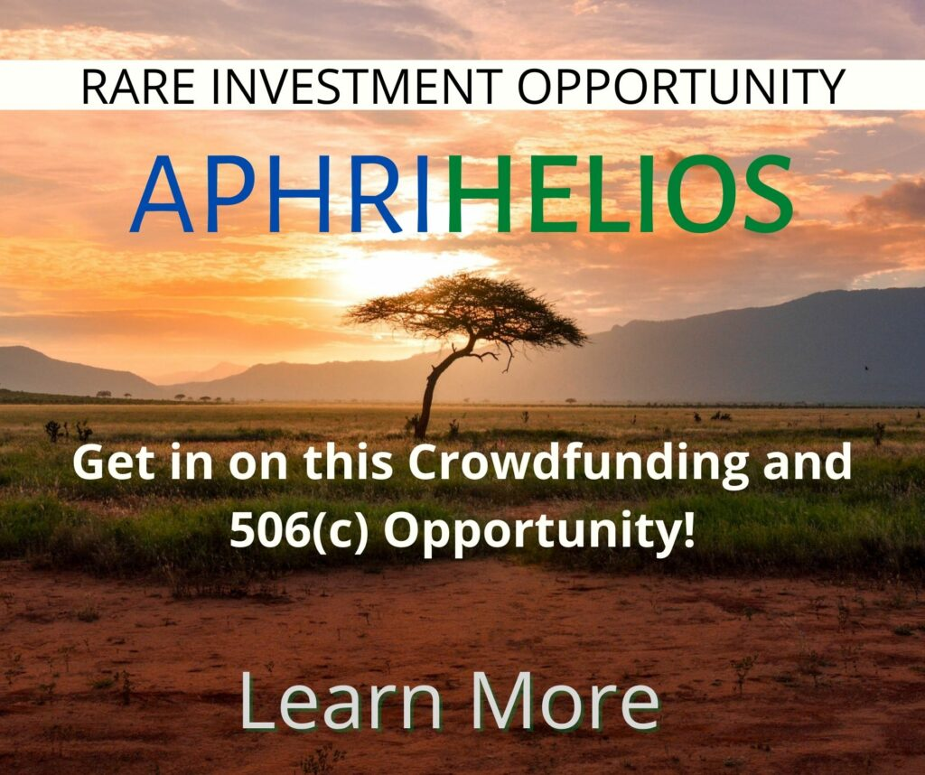 Should you invest in AphriHelios?