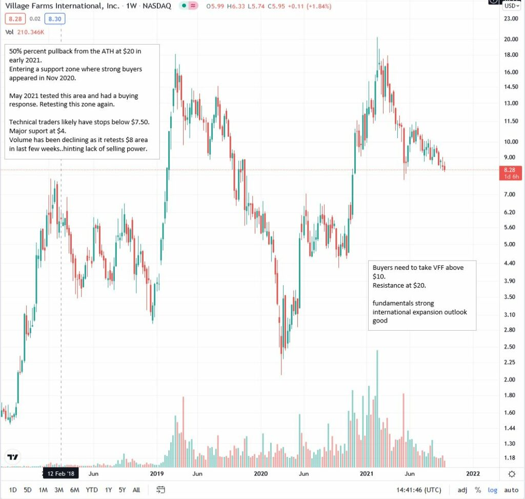 Why is VFF a strong buy?